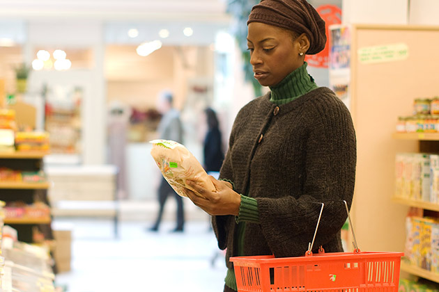 Image of woman shopping